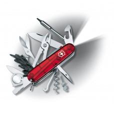 Нож Victorinox CyberTool Lite 1.7925.T полупрозрачный красный