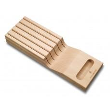 Подставка для ножей Victorinox деревянная 7.7065.0