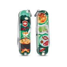 "Нож Victorinox Classic LE 2019 ""Swiss Mountain Dinner"" 0.6223.L1907"