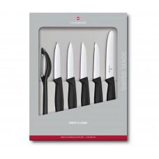 Набор из 6 предметов Victorinox Swiss Classic Paring Knife Set 6.7113.6G в подарочной упаковке