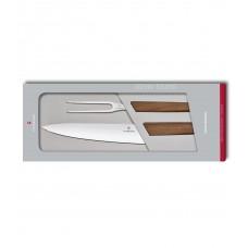 Набор из 2 предметов Victorinox Swiss Modern Carving Set 6.9091.2 в подарочной упаковке
