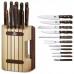 Набор из 11 предметов Victorinox Wood Cutlery Block 5.1150.11