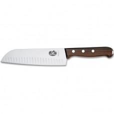 Кухонный нож Victorinox Santoku с воздушными карманами 6.8520.17G в подарочной упаковке