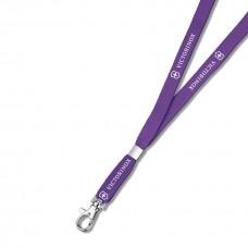 Шнурок на шею с карабином Victorinox 4.1879.503 фиолетовый