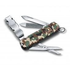 Нож Victorinox Delemont Nail Clip 580  0.6463.94 камуфляж