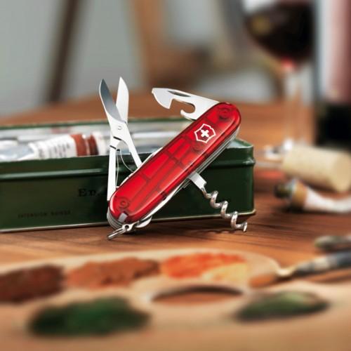 Victorinox 1.3713 нож красный huntsman spyderco ножи купить в москве