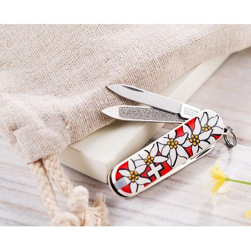 Нож victorinox classic sd 0.6203.840 эдельвейс нож для электротехнических работ morakniv
