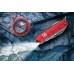 Нож Victorinox Huntsman Lite 1.7915.T полупрозрачный красный