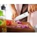 Кухонный нож Victorinox Swiss Classic Santoku Knife 6.8523.17G с воздушными карманами в подарочной упаковке