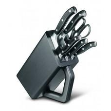 Набор из 6 кованых ножей Victorinox Forged Сhef's Grand Maitre Cutlery Block 7.7243.6 с подставкой