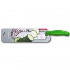 Кухонный нож Victorinox Swiss Classic Santoku Knife 6.8526.17L4B с воздушными карманами в блистере