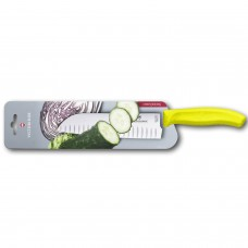 Кухонный нож Victorinox Swiss Classic Santoku Knife 6.8526.17L8B с воздушными карманами в блистере
