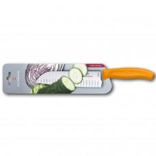 Кухонный нож Victorinox Swiss Classic Santoku Knife 6.8526.17L9B с воздушными карманами в блистере