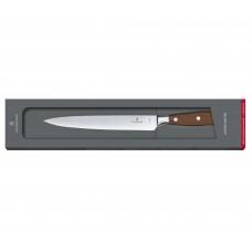 Кованый нож Victorinox Grand maitre Rosewood Carving Knife 7.7200.20G в подарочной упаковке