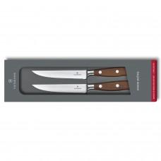 Кованый нож Victorinox Grand maitre Rosewood Steak Knife Set 7.7240.2W в подарочной упаковке