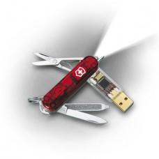 Нож Victorinox 0.6026.TG1 c флеш-памятью 1Gb