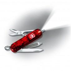 Нож Victorinox Signature Lite 0.6226.T полупрозрачный красный