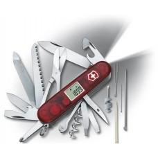 Нож Victorinox Expedition Lite 1.7965.AVT полупрозрачный красный