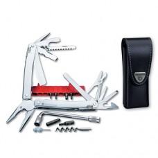 Мультитул Victorinox Swiss Tool Spirit XC Plus 3.0238.L в кожаном чехле