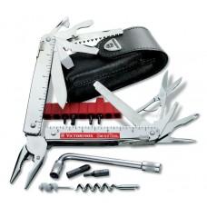 Мультитул Victorinox Swiss Tool X Plus 3.0338.L в кожаном чехле