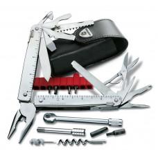 Мультитул Victorinox Swiss Tool X Plus Ratchet 3.0339.L в кожаном чехле