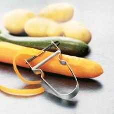Нож для чистки овощей Victorinox 7.6070 Rex Peeler метал.