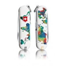 "Нож Victorinox Classic LE 2013 ""The World – My Home "" 0.6223.L1303"