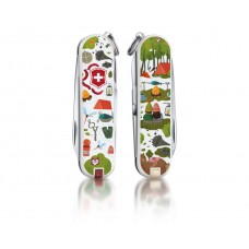 "Нож Victorinox Classic LE 2015 ""Nature Adventure"" 0.6223.L1505"