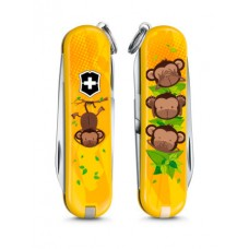 "Нож Victorinox Classic LE 2016 ""3 Wise Monkeys"" 0.6223.L1607"