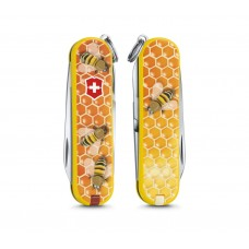 "Нож Victorinox Classic LE 2017 ""Honey Bee"" 0.6223.L1702"