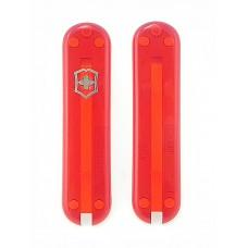 Комплект накладок Victorinox к ножу 58 мм C.6200.T полупрозрачный красный