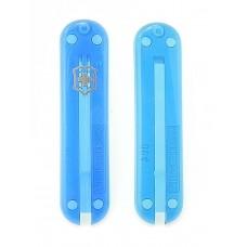 Комплект накладок Victorinox к ножу 58 мм C.6202.T полупрозрачный синий