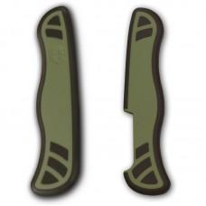 Комплект накладок Victorinox к ножу 111 мм C.8334 зелено-черный
