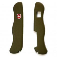 Комплект накладок Victorinox к ножу 111 мм C.8904 зеленый