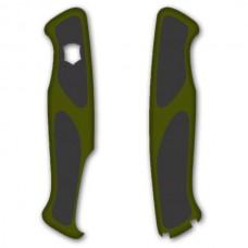 Комплект накладок Victorinox к ножу RangerGrip C.9534 зелено-черный