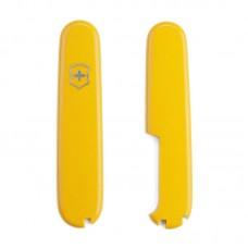 Комплект накладок Victorinox к ножу 91 мм C.3508 желтый, с местом под ручку