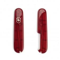 Комплект накладок Victorinox к ножу 91 мм C.3600.T полупрозрачный красный