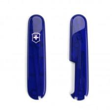 Комплект накладок Victorinox к ножу 91 мм C.3502.T полупрозрачный синий, с местом под ручку
