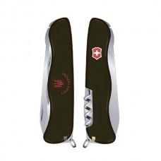 Нож Victorinox Nomad Ukraine 0.8353.3R9 черный