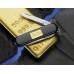 Нож Victorinox Сlassic 0.6203.87 черный с золотой пластинкой