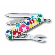 "Нож Victorinox Classic ""VX Colors"" 0.6223.841"