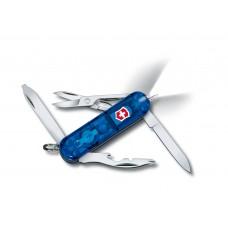 Нож Victorinox Manager Midnite 0.6366.T2 полупрозрачный синий