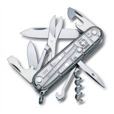 Нож Victorinox Climber 1.3703.T7 полупрозрачный серебристый