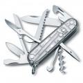 Нож Victorinox Huntsman 1.3713.T7 полупрозрачный серебристый