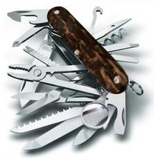 Нож Victorinox SwissChamp 1.6791.66 с накладками из натурального оленьего рога