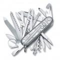 Нож Victorinox SwissChamp 1.6795.T7 полупрозрачный серебристый