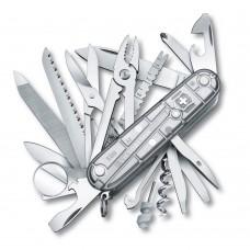 Нож Victorinox SwissChamp 1.6794.T7 полупрозрачный серебристый