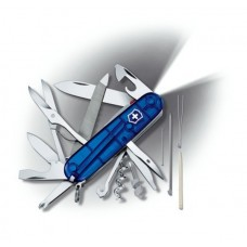 Нож Victorinox Mountaineer Lite 1.7945.T2 полупрозрачный синий