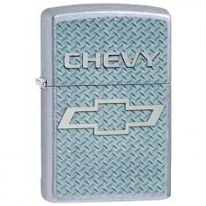 Зажигалка Zippo Chevy Brushed Chrome 207.578