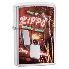 Зажигалка Zippo 200 Neon Sign 24069